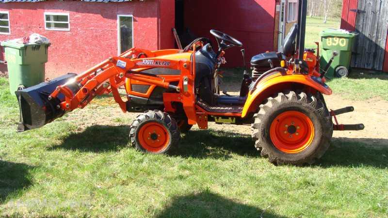 tracteur kioti ck20s d broussailleuse v hicules vans motoris s camions. Black Bedroom Furniture Sets. Home Design Ideas