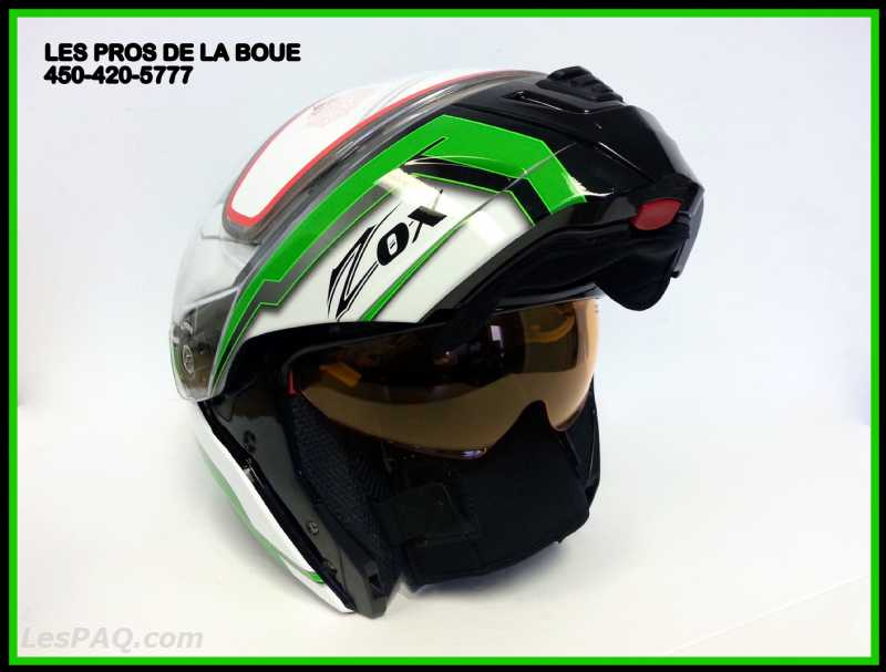 CASQUES ZOX MODULAIRE D'HIVER CHAUFFANT